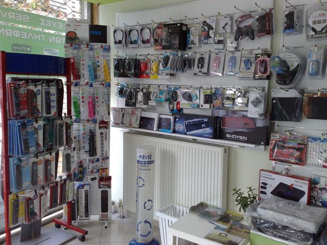 Διάφορα gadgets και αξεσουάρ κινητών και υπολογιστών