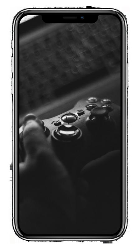 Κινητό τηλέφωνο για να δείξει υπηρεσίες όπως σπασμένη οθόνη, επισκευή ακουστικού και αλλαγή μπαταρίας